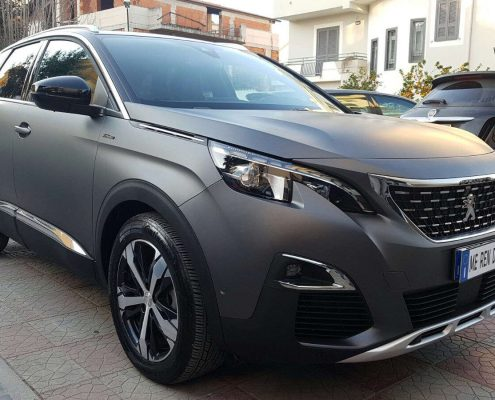 Car wrapping peugeot 3008