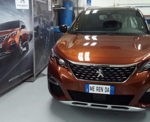 frontale sinistro peugeot 3008 senza Car wrapping